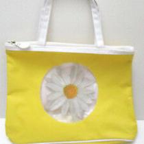Avon   -   Yellow Daisy   -   Purse  / Tote  Bag   New Photo