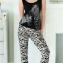 Avon Zebra Glitter Pjs Brand New Size 6/8 Photo