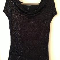 Awesome Inc Black Sparkle Top Sz M...worn Once Photo
