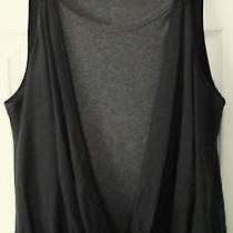 Awesome Robert Rodriguez Double Tank Styled-Banded Hemline-Stretchy Top-M Photo