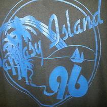 Awesome Vintage 90s Soft Florida Palm Trees Tv Show Fantasy Island Shirt Sz Xl Photo