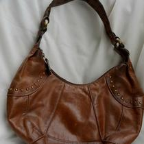 Awesome Vintage Fossil Leather Purse Handbag Photo