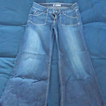 Awesome Women's Hudson Bell Bottom Low Rise Jeans Sz 28 Photo
