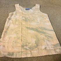 Awesome Women's Size S Small Simply Vera Vera Wang Peach Gray Tank Top Shirt Photo