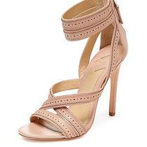 B Brian Atwood Lucila Ankle Strap Sandal Ladies Women Heel Stiletto Light Blush  Photo