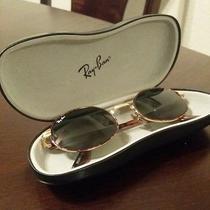 b&l Ray-Ban W2188 Tortoise & Gold Oval Sunglasses Photo