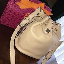 B.new Tory Burch Blush Brody Bucket Crossbody/shoulder Bag Full Size Msrp 450 Photo