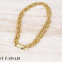 B06428 - Celine Gold Plated Chain Belt Photo
