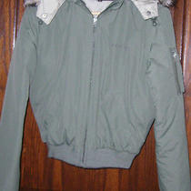 B2 Bebe Down Short Coat Military Flight Jacket Logo Size Mediumskinny Photo