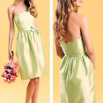 B2 by Jasmine Honeydew Light Green Size 10 Prom Dress Formal Gown   Photo