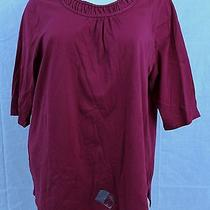 B2 liz&me Catherines for Lane Bryan Shirt Berry Pink Shade Size 3x 26 / 28w Top Photo