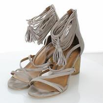 B21 150 Women's Sz 8.5 M Jeffrey Campbell Pallas Ankle Strap Sandal Photo