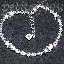 Ba01 Swarovski Crystal Bridal Bracelet Photo
