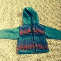 Baby 12 Month Patagonia Aztec Fleece Jacket Fall Season in Style Excellent Used Photo