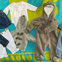 Baby 3 Month Lot Suspenders Baby Gap One Piece Bear Suit Nb Hoodie and More Photo