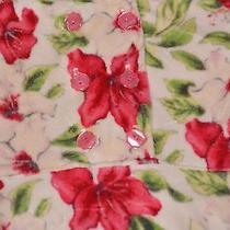 Baby B Lulu Los Angeles 4 4t Poinsettia Velvet Dress Xmas Winter Girls Holiday Photo