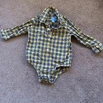 Baby Boy 12-18 Months Yellow Plaid Photo