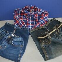 Baby Boy 3 Pc Lot 12 Months Winter Clothing Mixed Lot Hudson Ralph Lauren Euc Photo