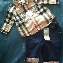 Baby Boy Burberry Outfit Size 6 Months Photo
