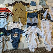 Baby Boy Clothes 3-6 Month Lot Baby Gap Nike Carter's Old Navy Gerber 24 Pieces Photo