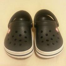 Baby Boy Crocs Black 4/5 Photo