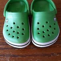 Baby Boy Crocs Size 4/5 Photo