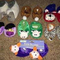 Baby Boy Girl Newborn Animal Slippers Dog Horse Pig Leopard Cow Hippo Lamb Shoes Photo