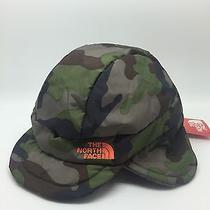 Baby Boy North Face Flap Jacks Camo Hat O/s Msrp 30 Photo