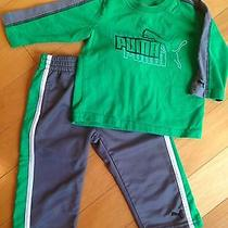 Baby Boy Puma Outfit Size 12 Months Photo