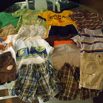 Baby Boy's Summer Clothes Lot Size 18 Months Shorts & Tops Photo
