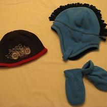 Baby Boy's Winter Hat & Mittens Lot  Boy's Sz 12 to 18 Months Gap Photo