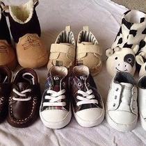 Baby Boy Shoes Sz 1 Lot of 6 Brand New Guess Polo Ralph Lauren Photo
