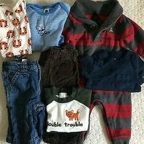 Baby Boys Clothes Size 3-6 Month Gymboree Gap Jeans Shirt Old Navy Lot 3m 6m Photo