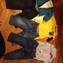 Baby Boys Name Brand Outfits. Lot Gap Jeans. 6-12months Photo
