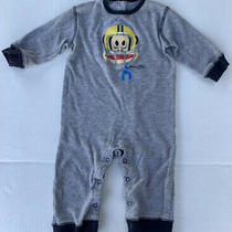 Baby Boys Paul Julius Frank One Piece Romper 6-9 Months Gray Grey Infant Photo