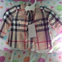 Baby Burberry Plaid Shirt Photo