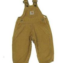 Baby Carhartt Duck Brown Overalls 12 Months Boys Baby Photo