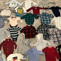 Baby Clothing Lot 9 Months 9m Carters Great Condition Gap Flannels Hoodies Shirt Photo