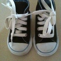 Baby Converse All Star Size 3 Brown/baby Blue. Infant. Photo