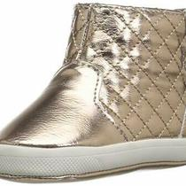Baby Deer Girl's 02-4846 Ankle Boot Rose Gold  Size Infant 1.0 Photo