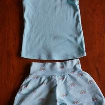 Baby Gap 12-18 Month Tank and Rainbow Shorts Photo
