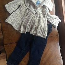 Baby Gap 12 18 Months Infant Lot Sweater Jeans Leggings Photo