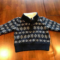 Baby Gap 12-18m Boys Blue Pullover Sweater  Photo