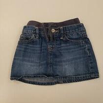 Baby Gap 18-24 Months Girl Jean Skirt Photo