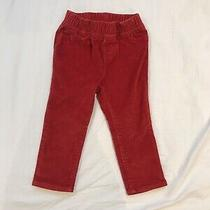 Baby Gap 18-24 Months Girls Red Chords. 2 Available (Priced Individually) Photo