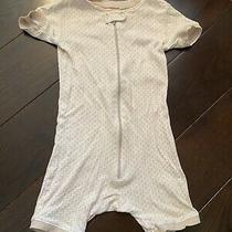 Baby Gap 1pc Floral Pajama Zipper Romper Girl Size 2 Photo