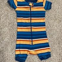 Baby Gap 2t Boy Pajama One Piece Zip Up Shorts Photo