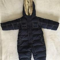 Baby Gap 3-6 Month Boys or Girls Navy Snowsuit-Mint Condition Photo