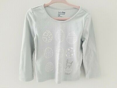 Baby Gap 3 Years Easter Egg Long Sleeve Top Photo
