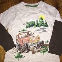 Baby Gap 3t Offroad Jeep Boys Top Shirt Long Sleeve Euc Layered Photo